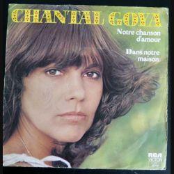 DISQUE 45 TOURS : Chantal Goya Notre Chanson d'Amour et Dans notre maison (C177)