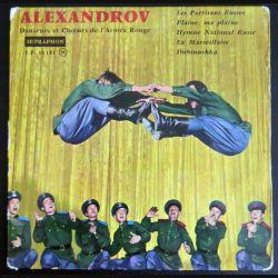 DISQUE 45 TOURS : Alexandrov Danseurs et Choeurs de l'Armée Rouge (C177)