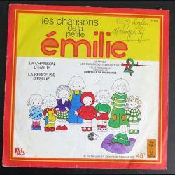 DISQUE 45 TOURS : Les chansons de la petite Emilie (C177)