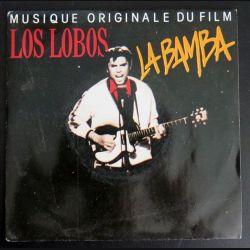 DISQUE 45 TOURS : Musique originale du film La Bamba par Los Bobos (C177)