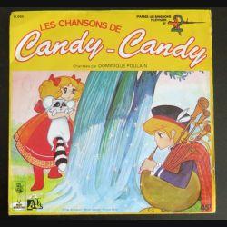 DISQUE 45 TOURS : Dominique Poulain chante les chansons de Candy-Candy (C177)