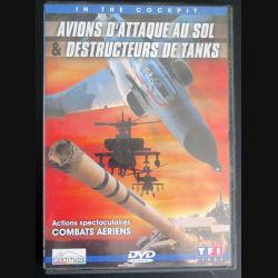 DVD In The Cockpit Avions d'attaque au sol et destructeurs de tanks (C181)