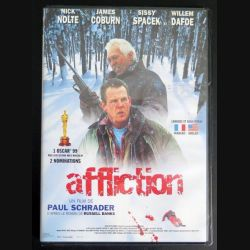 DVD Affliction film de Paul Schrader avec Nolte, Cobrun, Spacek et Dafoe (C181)