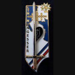 """PROMOTION EMIA : insigne de la promotion de l'école militaire interarmes """" Lt Nungesser"""" Arthus Bertrand G. 5498 N° 405"""