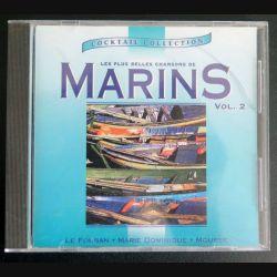 DISQUE CD :  Les plus belles chansons de Marins volume 2 (C177)