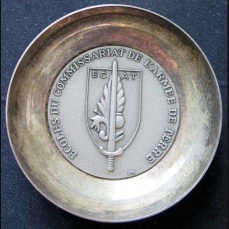 ECAT : Coupelle métallique de l'école du Commissariat de l'armée de terre (C145)