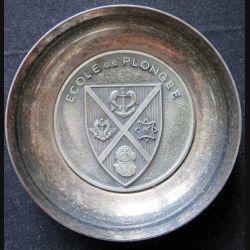 Coupelle métallique de l'école de Plongée (C145)
