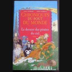Chroniques du bout du Monde Le dernier des pirates du ciel Stewart Riddell Tome 4 Milan (C145)