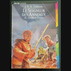 Le Seigneur des Anneaux 2. Les deux Tours Tolkien Folio Junior (C145)