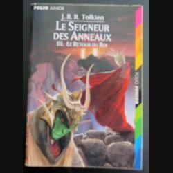 Le Seigneur des Anneaux 3. Le Retour du Roi Tolkien Folio Junior (C145)