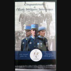 Livret du cinquantenaire de l'école militaire interarmes avec 3 CD  (C165)