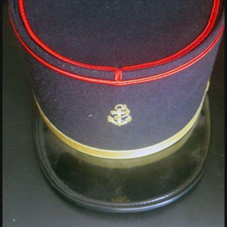 Képi de militaire du rang engagé des Troupes de Marine ancre en cannetille (C165)