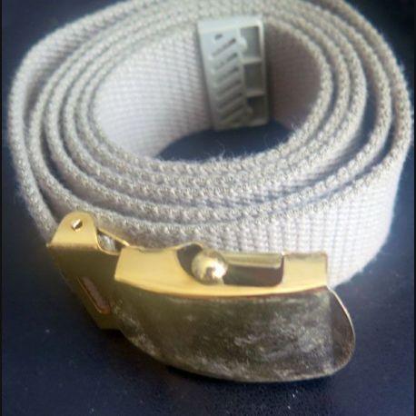 ceinture de pantalon Terre de France hauteur 3,1 cm boucle laiton doré