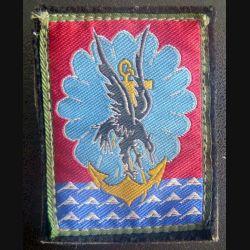11° DP : insigne tissu de la 11° division parachutiste sur velcro