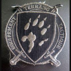 ETT : insigne tissu d'Equipement Terrang Tactique sur velcro