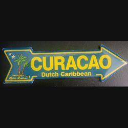 MAGNET FRIGO Curacao Dutch Caribbean Bon bini de longueur 14 cm