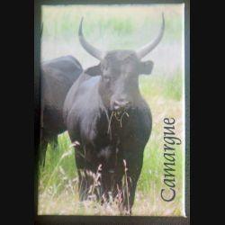 MAGNET FRIGO Camargue représentant un taureau 5,5 x 8 cm