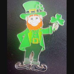 MAGNET FRIGO représentant un Irlandais sur Ressort Hauteur 6 cm