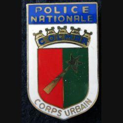 POLICE : Insigne métallique de la police nationale de Nice de fabrication Delsart Sens