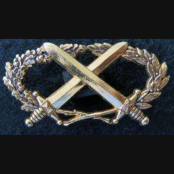 BMP2 : insigne du brevet militaire professionnel n°2 échelon or Drago attaches pin's