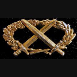 BMP2 : insigne du brevet militaire professionnel n°2 échelon or Coinderoux attaches pin's