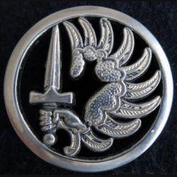 BERET PARA : insigne de béret des régiments des troupes aéroportées et de chasseurs parachutistes