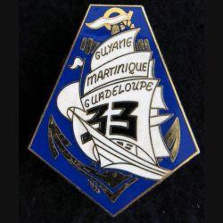 33° RIMA : 33° Régiment d'Infanterie de Marine Delsart Sens G. 1897