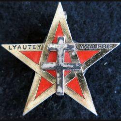 1° RSM : insigne métallique du 1° régiment de spahis marocains de fabrication Drago G. 1627
