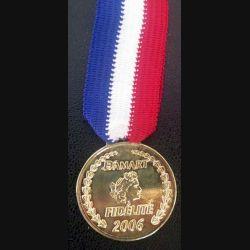FRANCE : médaille commerciale Damart Fidélité 2006