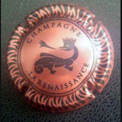 Capsule Muselet de bouteille de champagne La Renaissance (L1)
