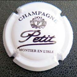 Capsule Muselet de bouteille de champagne Petit Montier en l'Isle (L1)