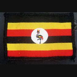 insigne de manche de l'Ouganda 5 x 7,3 cm