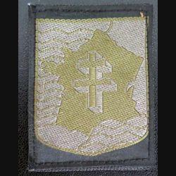 2° DB : insigne tissu de combat très basse visibilité de la 2° division blindée taille  5 x 7 cm