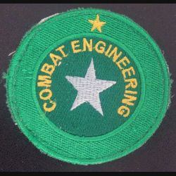 insigne tissu de africain de combat ingeneering sur scratch