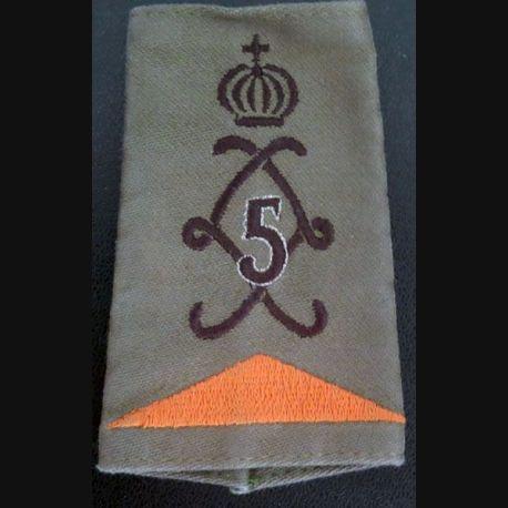 5° RH : foureau de combat du 5° régiment de hussards