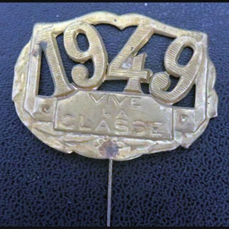 Insigne vive la classe 1949 en laison de largeur 4,3 cm