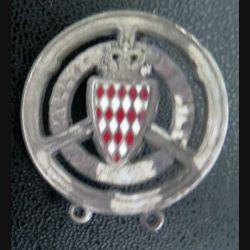 insigne du rallye automobile de Monte Carlo (sans vis arrière)