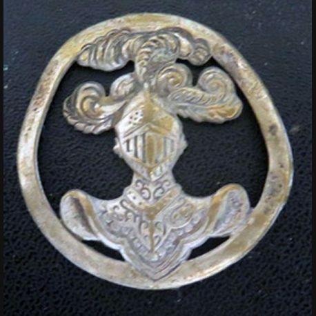 insigne de béret de l'arme blindée cavalerie de fabrication Coinderoux sans attache