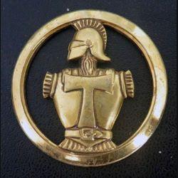 insigne de béret des transmissions de fabrication Béraudy Vaure Ambert sans attache