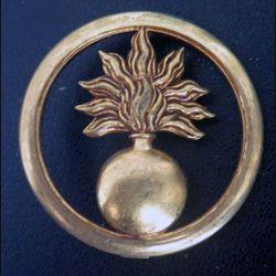 Insigne de béret des écoles doré de fabrication Coinderoux
