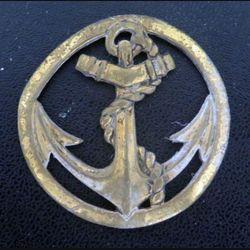insigne de béret des troupes coloniales et de marine Bichet sans attache