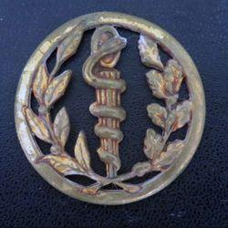 insigne de béret du service de santé de fabrication Coinderoux sans attache