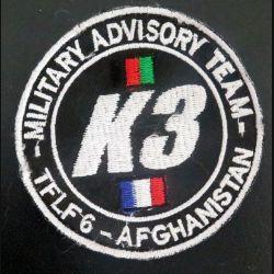 Insigne tissu Military Advisory team TFLF 6 Afghanistan K3 sur scratch