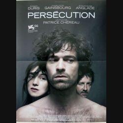 """AFFICHE FILM : affiche de cinéma du film """"Persécution"""" dimension 39 x 53 cm"""