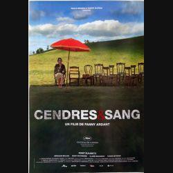 """AFFICHE FILM : affiche de cinéma du film """"Cendres & Sang"""" dimension 40 x 60 cm"""
