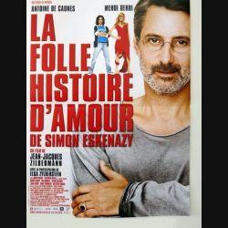 """AFFICHE FILM : affiche de cinéma du film """"La folle histoire d'amour de Simon Eskenazy"""" 39 x 53 cm"""