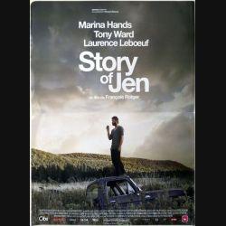 """AFFICHE FILM : affiche de cinéma du film """"Story of Jen"""" dimension 43 x 57 cm"""