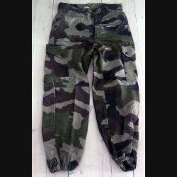 Pantalon de treillis camouflé vert armé taille 76 (taille 38 pour femme) (C188 - 62)