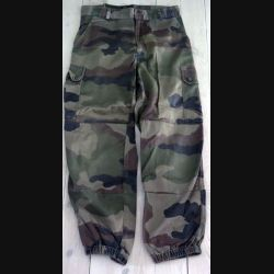Pantalon de treillis camouflé vert armé taille 76 M de fabrication CSV 2006 (C189 -69)