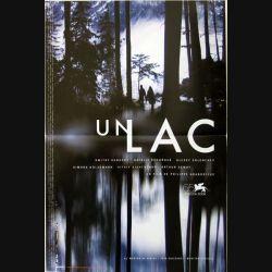 """AFFICHE FILM : affiche de cinéma du film """"Un lac"""" dimension 40 x 60 cm"""